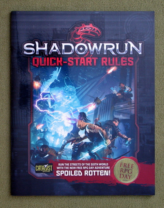 Image for Battletech: A Time of War / Shadowrun Quick-Start Rules Flipbook - Free RPG Day 2014