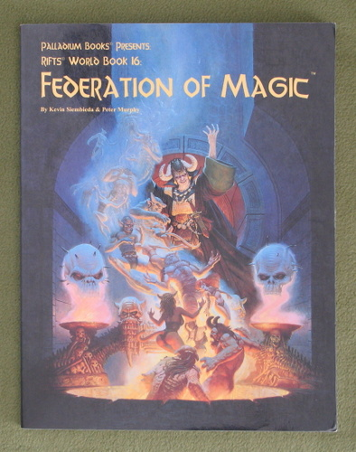 Image for Federation of Magic (Rifts World Book 16)