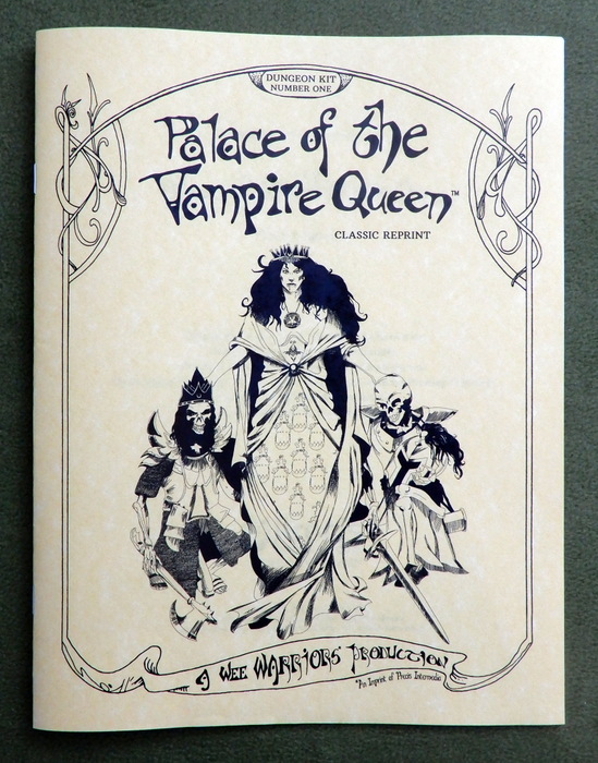 Image for Palace of the Vampire Queen (Wee Warriors Classic Reprint)