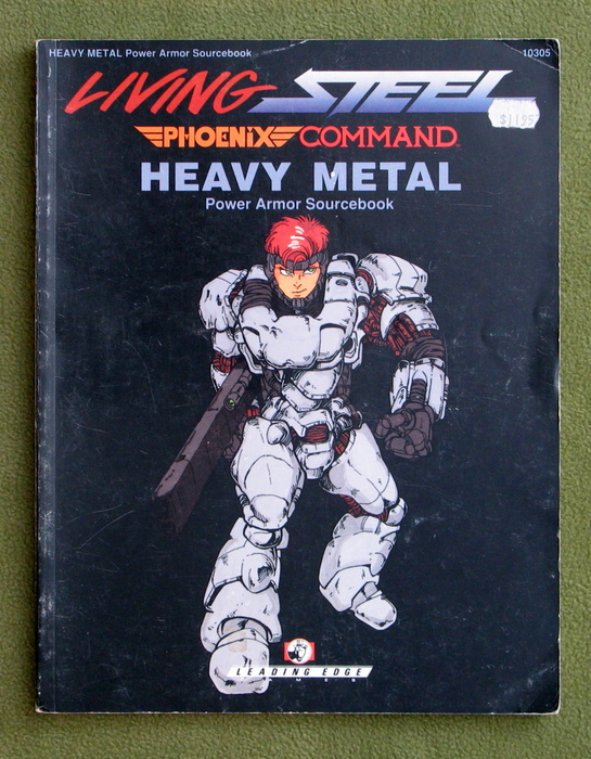 Image for Heavy Metal: Power Armor Sourcebook (Living Steel/ Phoenix Command) - PLAY COPY