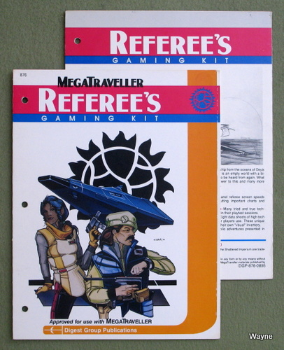 Image for MegaTraveller Referee's Gaming Kit - SCREENS ONLY