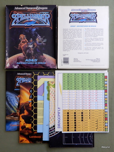 Image for Spelljammer: Advanced Dungeons and Dragons Adventures in Space - PLAY SET