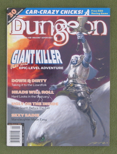 Image for Dungeon Magazine, Issue 93 (Combined with Polyhedron)