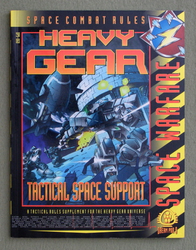 Image for Tactical Space Support (Space Warfare: Space Combat Rules for Heavy Gear)