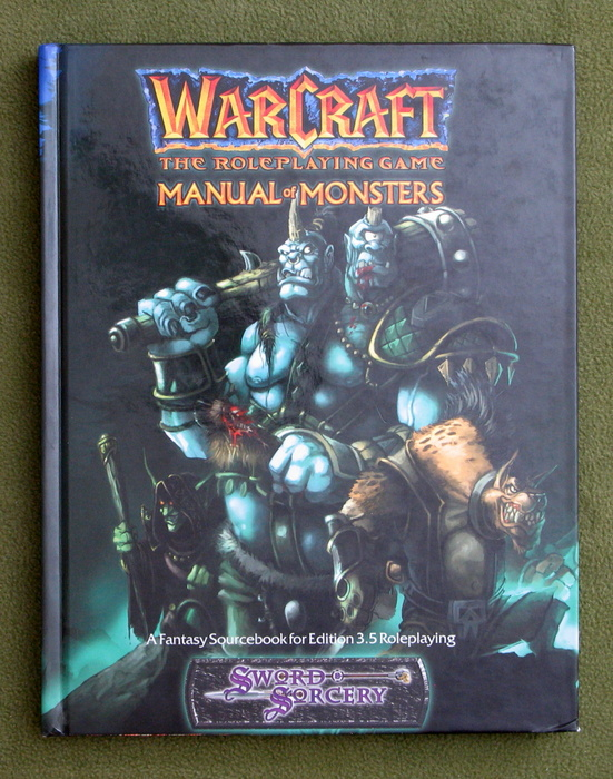 Image for Manual of Monsters (Warcraft: The Roleplaying Game)