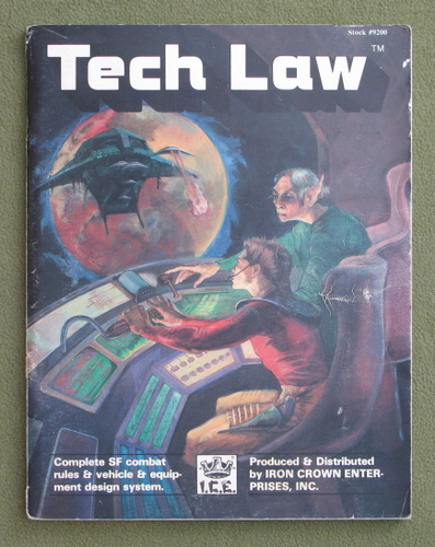 Image for Tech Law (Space Master) - COVER LOOSE