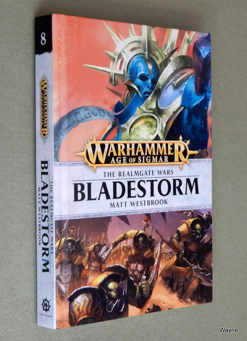 Image for Bladestorm: The Realmgate Wars Book 8 (A Warhammer Age of Sigmar Novel)