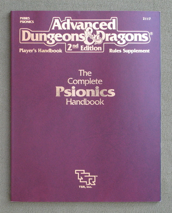 Image for Complete Psionics Handbook (Advanced Dungeons & Dragons Rules Supplement PHBR5)