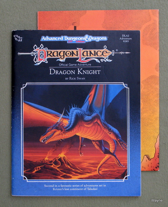 Image for Dragon Knight (Advanced Dungeons & Dragons/Dragonlance Module DLA2)