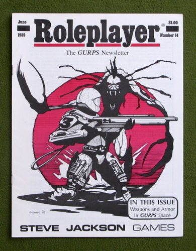 Image for Roleplayer, Number 14: The GURPS Newsletter (Magazine)