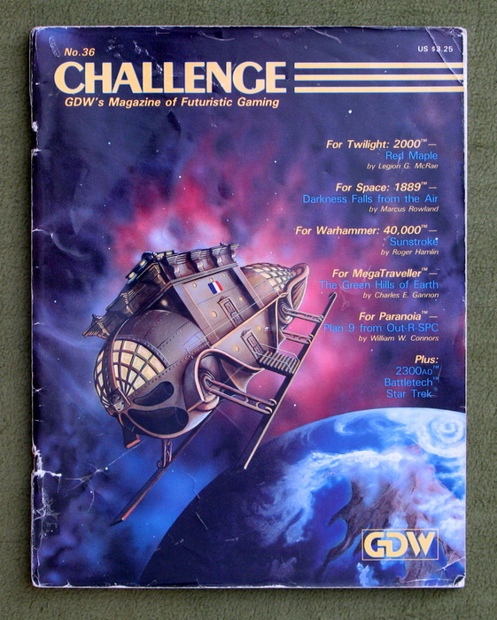 Image for Challenge Magazine, Issue 36 - PLAY COPY