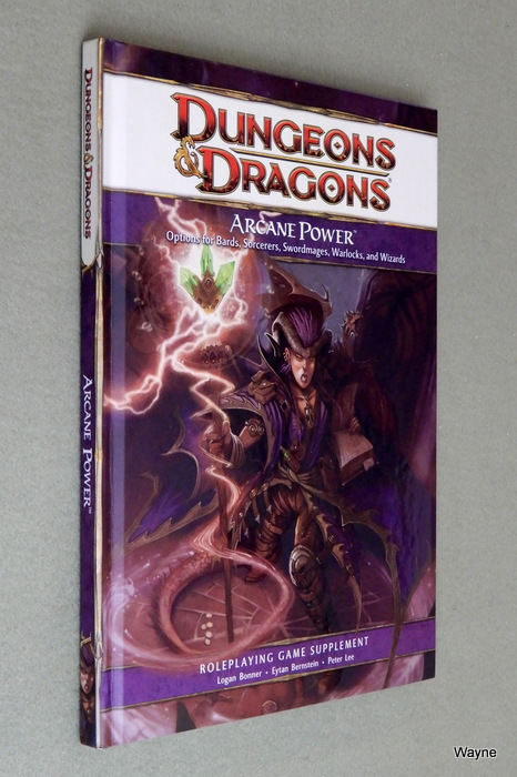 Image for Arcane Power: Options for Bards, Sorcerers, Swordmages, Warlock, and Wizards (Dungeons & Dragons, 4th Edition)