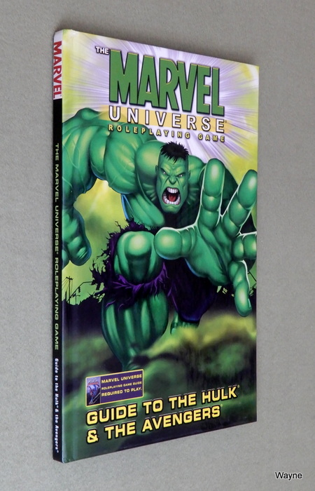 Image for Marvel Universe Role Playing Game: Guide to the Hulk & the Avengers