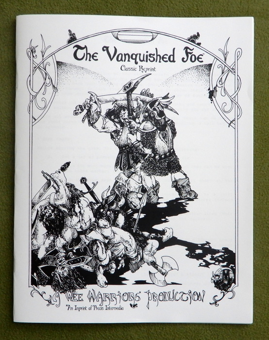 Image for The Vanquished Foe (Wee Warriors Classic Reprint)