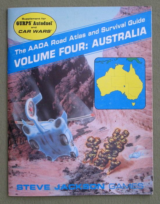 Image for AADA Road Atlas and Survival Guide Volume Four: Australia (Supplement for GURPS Autoduel and Car Wars)