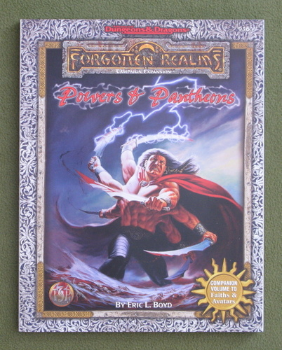Image for Powers & Pantheons (Advanced Dungeons & Dragons: Forgotten Realms)