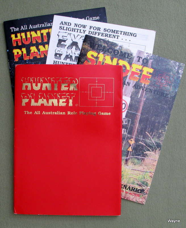 Image for Hunter Planet Executive Pack : The All Australian Role Playing Game