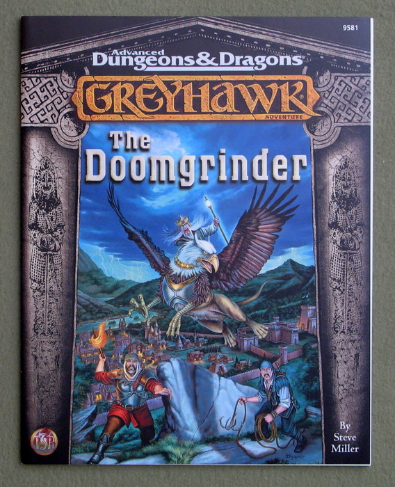 Image for The Doomgrinder (Advanced Dungeons & Dragons/Greyhawk: Lost Tombs, Vol 3)