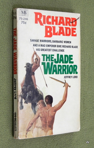 Image for The Jade Warrior: Richard Blade #2 (Macfadden 75-246)