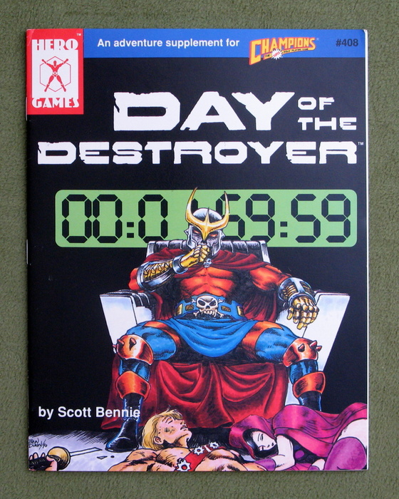 Image for Day of the Destroyer: An Adventure Supplement for Champions