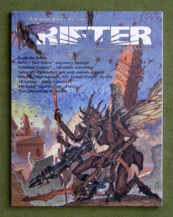 Image for Rifter #59: Your Guide to the Megaverse (Rifts)