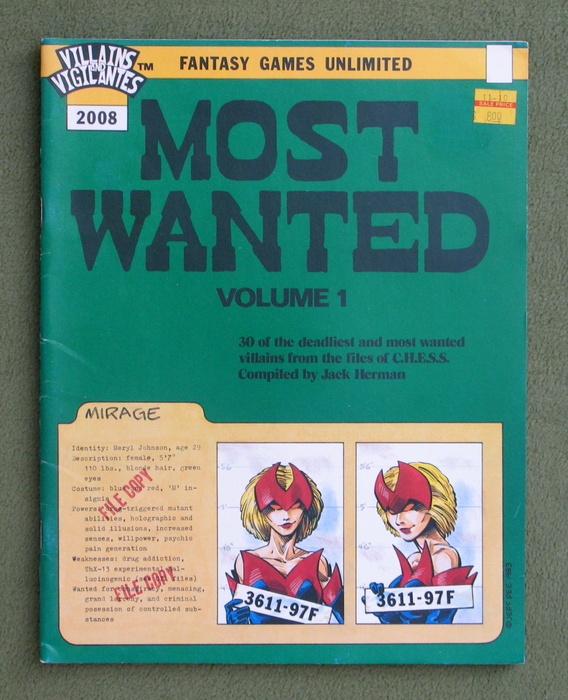 Image for Most Wanted, Volume 1 (Villains & Vigilantes)