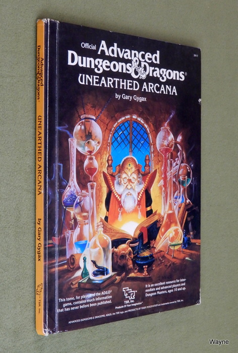 Image for Unearthed Arcana (Advanced Dungeons and Dragons) - PLAY COPY