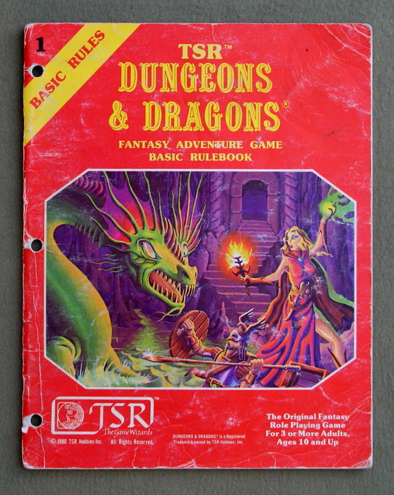 Image for Dungeons & Dragons Fantasy Adventure Game: Basic Rulebook - PLAY COPY