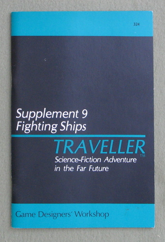 Image for Traveller Supplement 9: Fighting Ships - 1ST PRINT