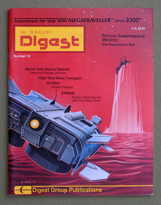 Image for Travellers' Digest, Issue 19 (Traveller RPG)