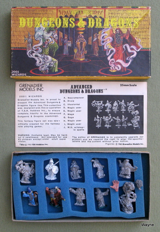 Image for Wizards (Advanced Dungeons & Dragons Metal Miniatures)