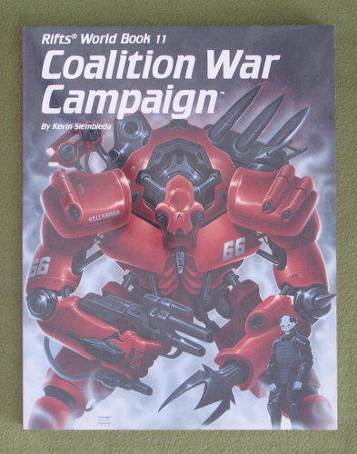 Image for Coalition War Campaign (Rifts World Book 11)