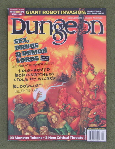 Image for Dungeon Magazine, Issue 95 (Combined with Polyhedron)
