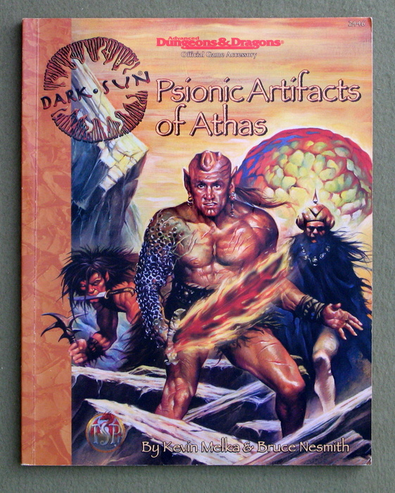 Image for Psionic Artifacts of Athas (Advanced Dungeons & Dragons: Dark Sun)