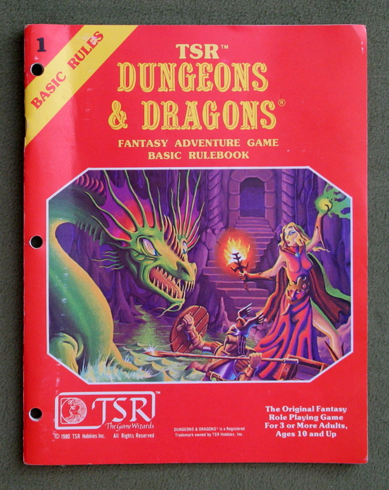 Image for Dungeons & Dragons Fantasy Adventure Game: Basic Rulebook