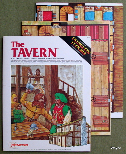 Image for The Tavern: A Deluxe Playing Aid for All Fantasy Role-Playing Games