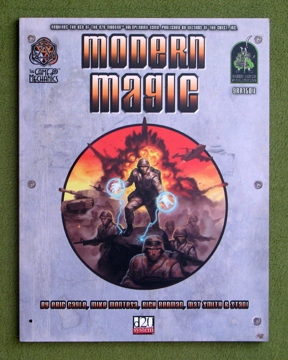 Image for Modern Magic (d20 3.5 Modern Roleplaying)