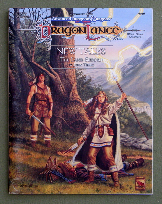 Image for New Tales: The Land Reborn (Advanced Dungeons & Dragons: Dragonlance Module DLT1)