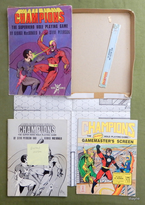 Image for Champions: The Super Hero Role Playing Game (Revised Edition) - INCOMPLETE