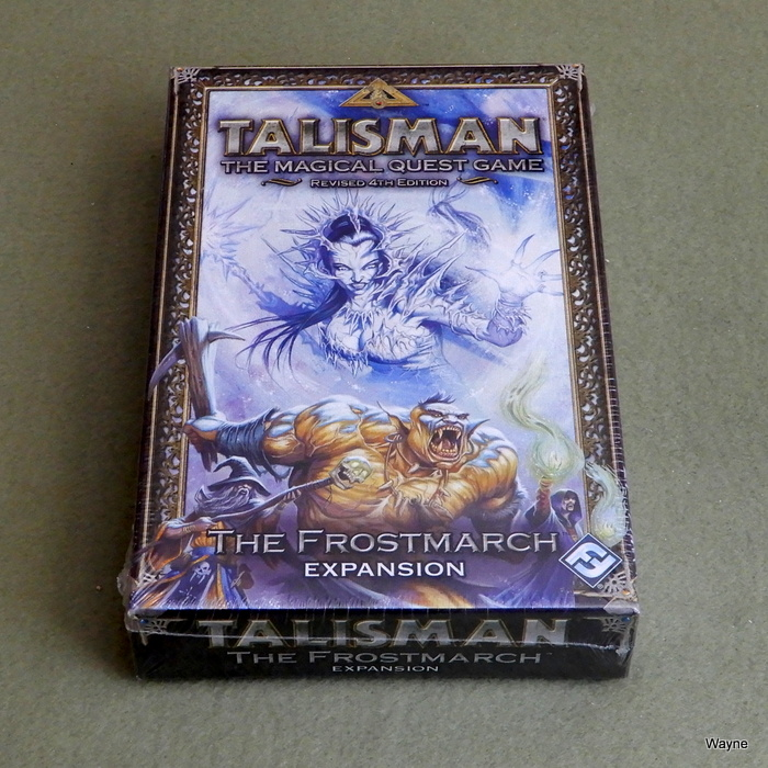 Image for Talisman 4th Edition: The Frostmarch Expansion