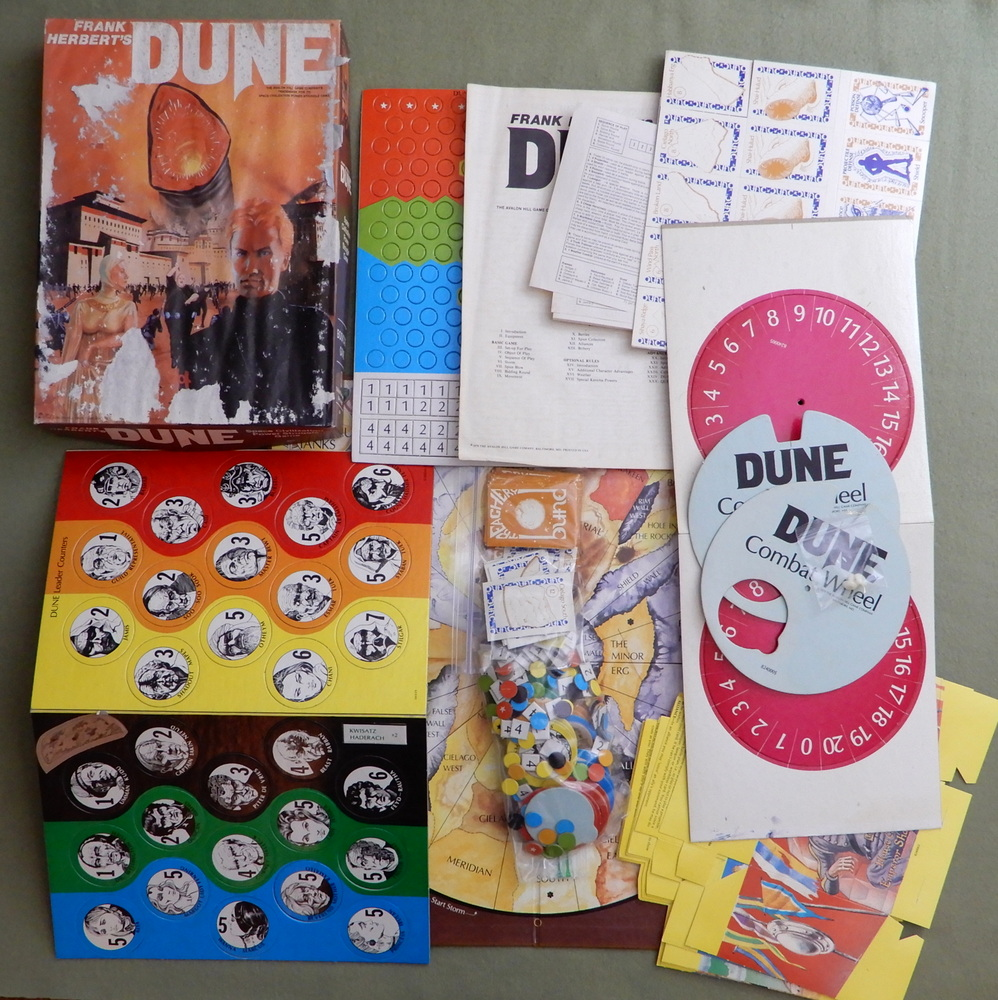 Image for Frank Herbert's Dune: Space Civilization Power Struggle Game - PLAY SET