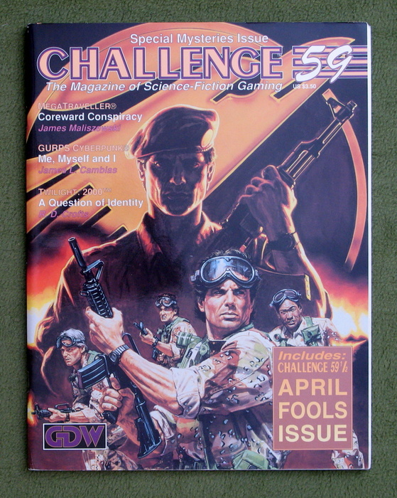 Image for Challenge Magazine, Issue 59