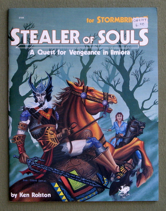 Image for Stealer of Souls: A Quest For Vengeance in Ilmiora (Elric/Stormbringer)