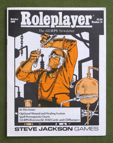 Image for Roleplayer, Number 16: The GURPS Newsletter (Magazine)