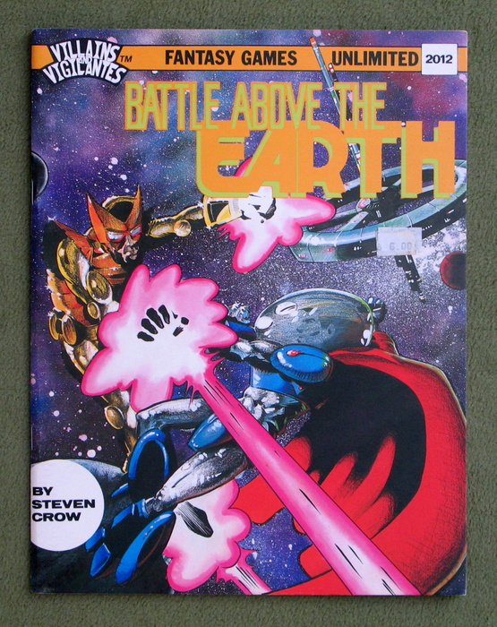 Image for Battle Above the Earth (Villains & Vigilantes)