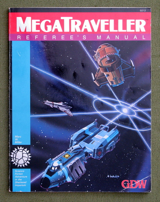 Image for MegaTraveller: Referee's Manual