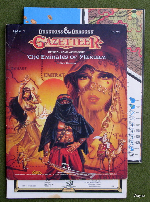 Image for The Emirates of Ylaruam (D&D Gazetteer GAZ2) - PLAY COPY