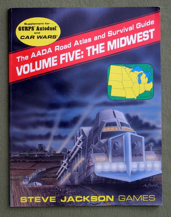 Image for The AADA Road Atlas and Survival Guide, Volume Five: The Midwest (GURPS Autoduel/Car Wars)