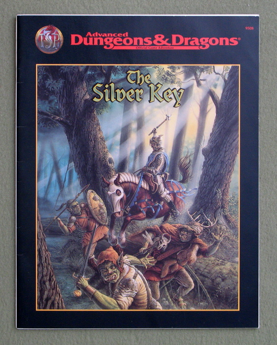 Image for The Silver Key (Advanced Dungeons & Dragons)