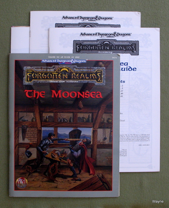 Image for The Moonsea (Advanced Dungeons & Dragons: Forgotten Realms)